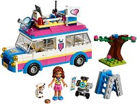"""Мисията на Оливия - Детски конструктор от серията """"LEGO: Friends"""" -"""