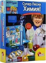 """Химическа лаборатория - Образователен комплект от серията """"I am a Genius"""" - играчка"""