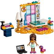 """Спалнята на Оливия - Детски конструктор от серията """"LEGO: Friends"""" - играчка"""