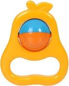 Дрънкалка - Круша - Детска играчка -