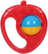 Дрънкалка - Ягода - Детска играчка - играчка