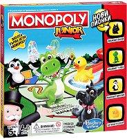 Монополи Джуниър - Детска бизнес игра -