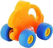 Количка - Зайче - Детска играчка за бутане -