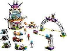 """Денят на голямото състезание - Детски конструктор от серията """"LEGO: Friends"""" - играчка"""