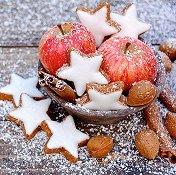 Салфетки за декупаж - Коледни сладки - Пакет от 20 броя