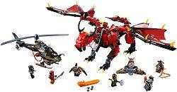 "Firstbourne - Детски конструктор от серията ""LEGO Ninjago: Masters of Spinjitzu"" -"
