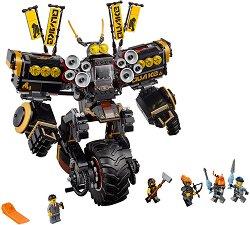 """Земетръсен робот - Детски конструктор от серията """"LEGO Ninjago: The movie"""" - играчка"""
