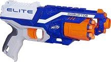 """Бластер - Disruptor - Комплект с 12 меки стрели от серията """"Nerf: N-Strike Elite"""" - играчка"""