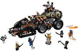 """Dieselnaut - Детски конструктор от серията """"LEGO Ninjago: Masters of Spinjitzu"""" - играчка"""
