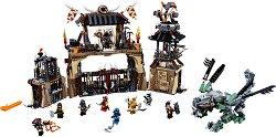 """Арената на драконите - Детски конструктор от серията """"LEGO Ninjago: Masters of Spinjitzu"""" -"""