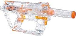 "Светещ бластер - Evader - Комплект с 12 меки стрели от серията ""Hasbro: Nerf"" -"