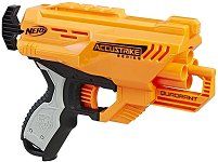 Nerf - N-Strike Elite Quadrant - Пистолет в комплект с 4 стрелички - играчка