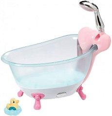 """Вана с душ - Аксесоар със светлинен и звуков ефект за кукли от серия """"Baby Born"""" -"""