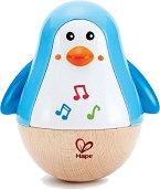 Невеляшка - Пингвин - Бебешка играчка със звуков ефект -