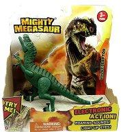"Велоцираптор - Детска играчка със звуков и светлинен ефект от серията ""Mighty Megasaur"" - продукт"