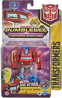 "Optimus Prime - Energon Axe Attack - Трансформираща се играчка от серията ""Cyberverse"" - фигура"