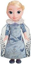 """Музикална кукла - Елза - Играчка със звуков ефект от серията """"Замръзналото кралство"""" - творчески комплект"""