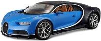 """Bugatti Chiron - Метална количка от серията """"Plus"""" - играчка"""