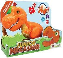 """Тиранозавър Рекс - Детска играчка със звуков и светлинен ефект от серията """"Junior Megasaur"""" -"""