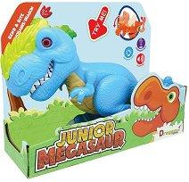 """Алозавър - Детска играчка със звуков и светлинен ефект от серията """"Junior Megasaur"""" -"""