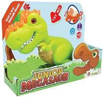 "Ругопс - Детска играчка със звуков и светлинен ефект от серията ""Junior Megasaur"" -"