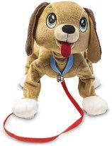 """Домашен любимец за разходка - Кученце - Плюшена играчка от серията """"Peppy Pups"""" - играчка"""