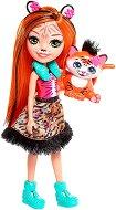 Enchantimals - Танзи Тайгър - Кукла с фигурка - продукт