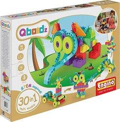 """Детски конструктор - 30 в 1 - Комплект от серията """"Qboidz"""" -"""