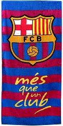 Плажна кърпа - ФК Барселона - детски аксесоар