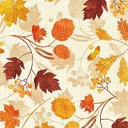 Салфетки за декупаж - Есенни листа - Пакет от 20 броя