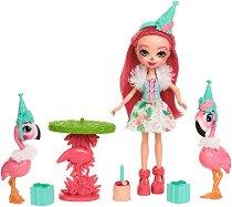 Enchantimals - Рожденният ден на Фенси Фламинго - Комплект за игра -