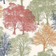 Салфетки за декупаж - Дървета - Пакет от 20 броя