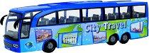 """Туристически автобус - City Travel - Детска играчка от серията """"City team"""" -"""