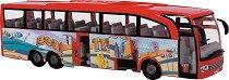 """Туристически автобус - Beach Travel - Детска играчка от серията """"City team"""" -"""