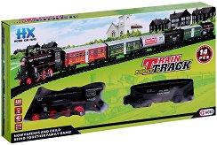 Влак - Train Track - Комплект с релси - творчески комплект