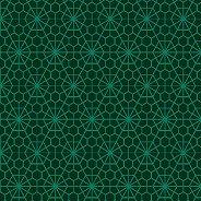 Салфетки за декупаж - Зелена мрежа  - Пакет от 20 броя
