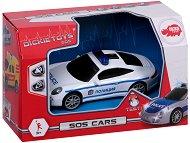 """Полицейска кола - Детска играчка със звуков и светлинен ефект от серията """"SOS"""" - творчески комплект"""