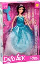 """Кукла Луси - Принцеса в бална рокля - От серията """"Defa Lucy"""" - играчка"""