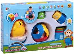 Комплект бебешки играчки - творчески комплект