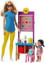 """Барби - Детска учителка - Кукла с аксесоари от серията """"Barbie"""" -"""