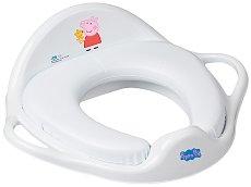 """Детска седалка за тоалетна с дръжки - От серия """"Peppa Pig"""" - играчка"""