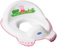 """Детска седалка за тоалетна чиния - От серия """"Peppa Pig"""" -"""