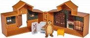 """Къщата на Мечока - Детска играчка от серията """"Маша и Мечока"""" -"""