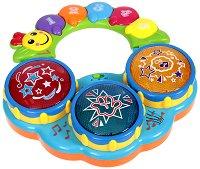 Барабан - Бебешка музикална играчка - играчка