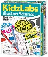 """Илюзионна наука - Детски образователен комплект от серията """"Kidz Labs"""" - играчка"""