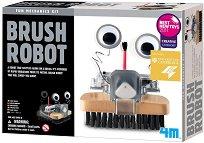 """Робот - Четка - Образователен комплект от серията """"Mechanic Fun"""" - фигура"""