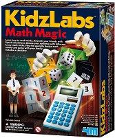 """Математическа магия - Детски образователен комплект от серията """"Kidz Labs"""" - играчка"""