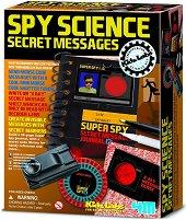 """Детективска наука - Тайни съобщения - Детски образователен комплект от серията """"Kidz Labs"""" - играчка"""