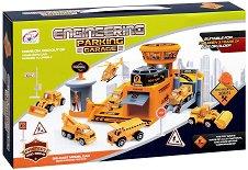 Паркинг за строителни машини - играчка