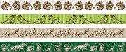 Декоративно тиксо - Животни - Комплект от 4 броя